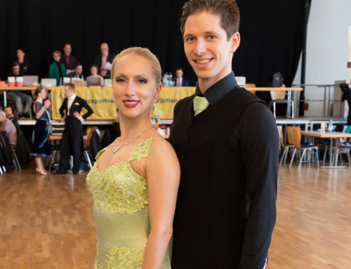 Florian Possel und Sylvia Streit in die B-Klasse aufgestiegen