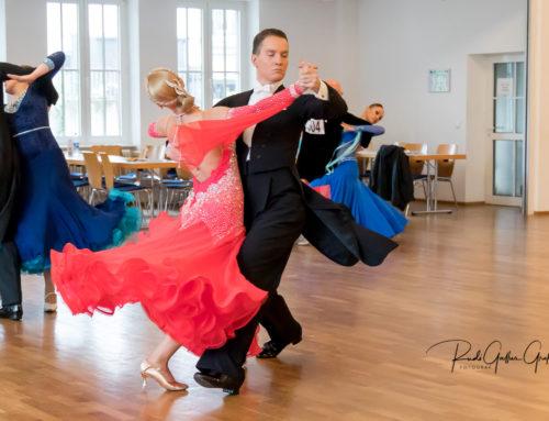 Turnier-Debut von Dietmar Schediwie und Tatjana Beinhauer