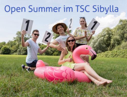 Open Summer im TSC Sibylla